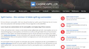 Derfor bør du bruke Casinospiller.com